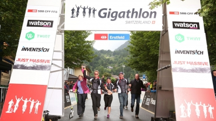 Gigathlon 2016 «Just Massive»
